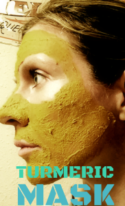 turmeric mask that cleanses and hydrates the skin