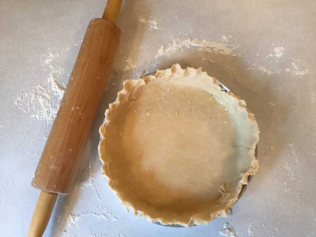 pie crust using lard
