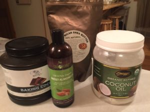 ingredients for body butter