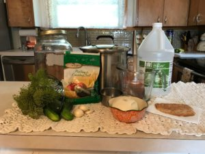 ingridiants to make dill pickles