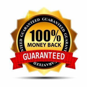 guaranteed money back