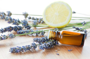 lavender and lemon oil