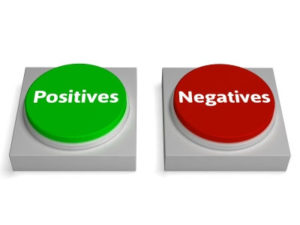 positives and negatives when talking about technology