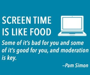 screen time for adults and kids