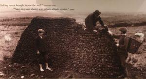 stacking peat