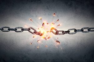 freedom or the breaking of chains