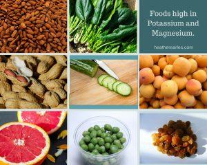 Foods high in Potassium and Magnesium