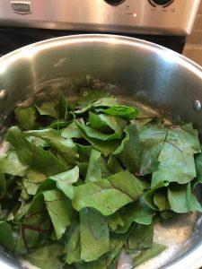 Beat Leaf Soup