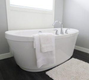 a warm hot bath can help with cramoing