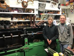 small town America: L&H Shoe Shop