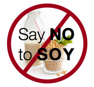 say no to soy