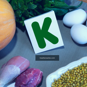 What foods and nutrients are in vitamin K?