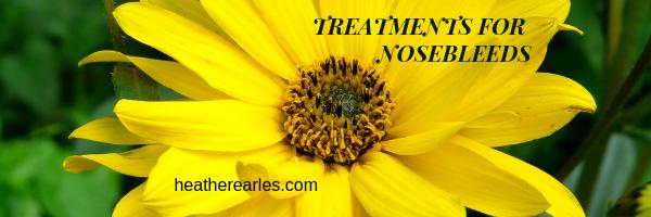 treatment for nosebleeds