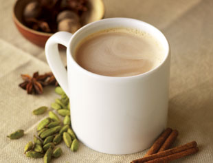 hot chai latte
