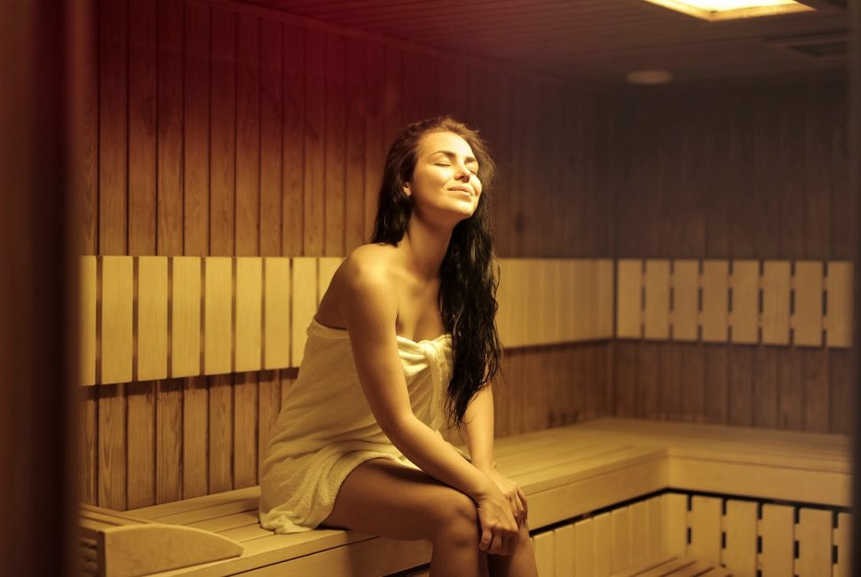 A Sauna is a great relaxer, healer, and a way to Improve circulation. #HeatherEarles #herbnwisdom #sauna #circulation #bloodflow