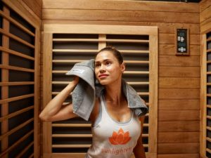Saunas are used all over the world to promote cleansing, circulation and relaxation. #HeatherEarles #herbnwisdom #sauna #healthybody