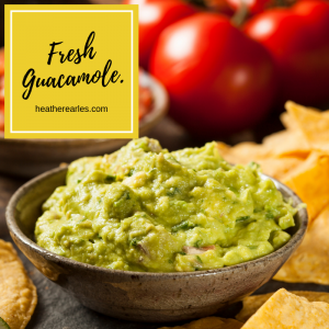 Healthy 4th of July Recipes #HeatherEarles #herbnwisdom #homemadeguacamole #dip