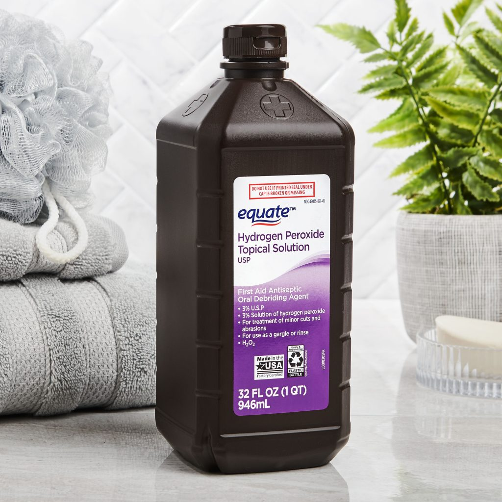 Medical Uses For Hydrogen Peroxide #HeatherEarles #herbnwisdom #naturalliving #hydrogenperoxide #homeremedies #health #cleaning