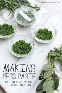 How to make herbal Pastes #heatherearles #herbnwisdom #naturalliving #healthblogger #podcaster #oregano #italiandishes #herbelpastes