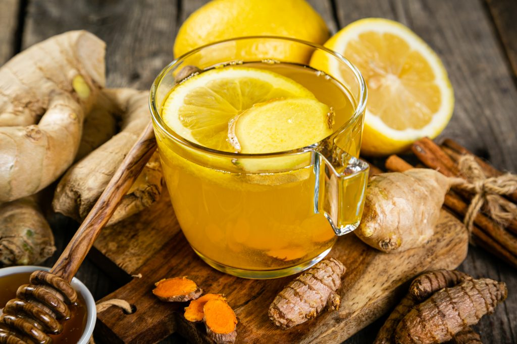 Ginger tea to help with cellulite and digestion #herbnwisdom #heatherearles #naturalliving #ginger #herbs #ginger #healthblogger #healthpodcast