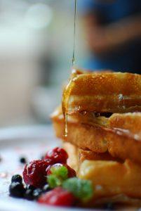 Quick and Easy Homemade Waffles #heatherearles #herbnwisdom #naturalliving #homemade #waffles #familyrecipes #breakfast ideas