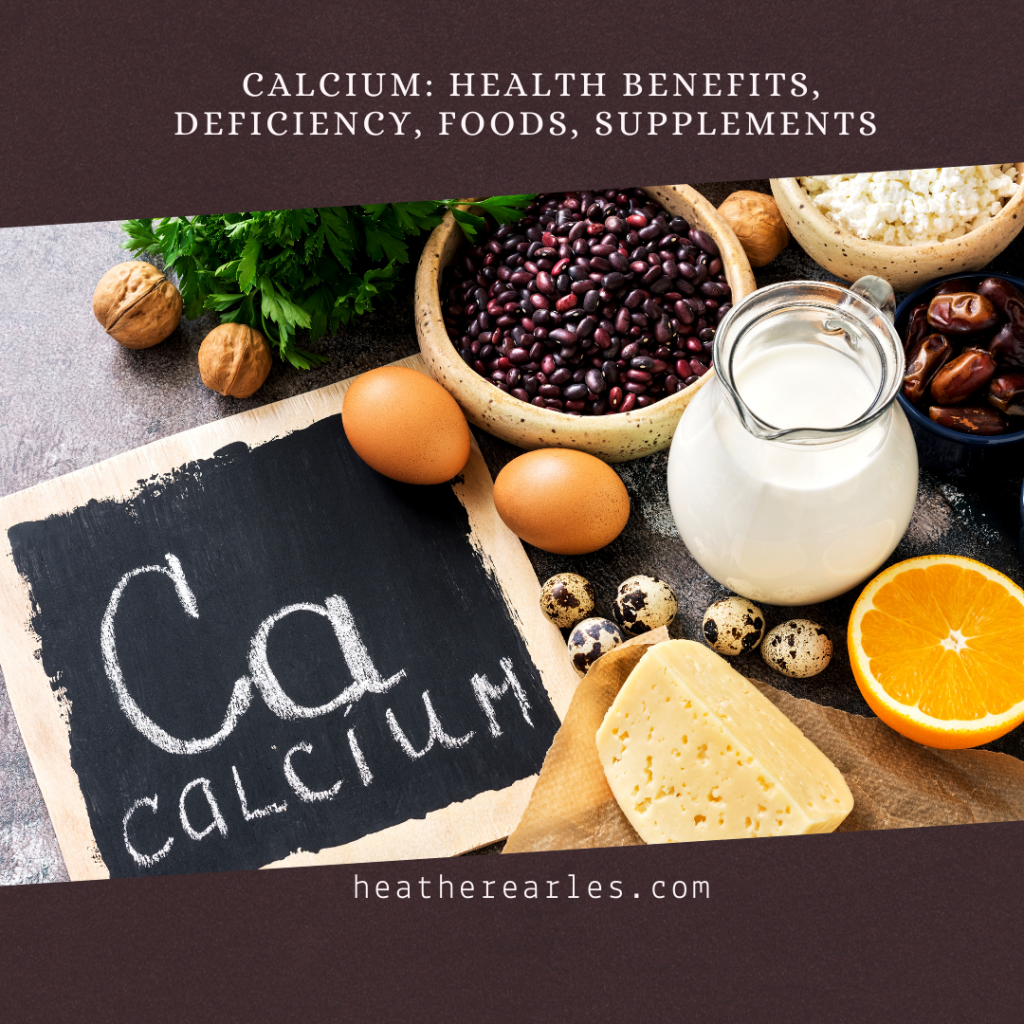 Calcium: Health Benefits, Deficiency, Foods, Supplements