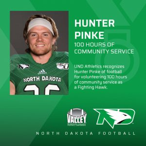 Hunter Pinke team captain #heatherearles #hunterpinke #PinkeStrong #herbnwisdom #inspiredathletes #footballnews