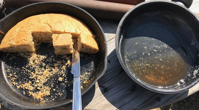 Corn bread and boxelder tree syrup #heatherearles #herbnwisdom #naturalliving #corona #syrupmaking #boxeldertrees #northerngirl #author