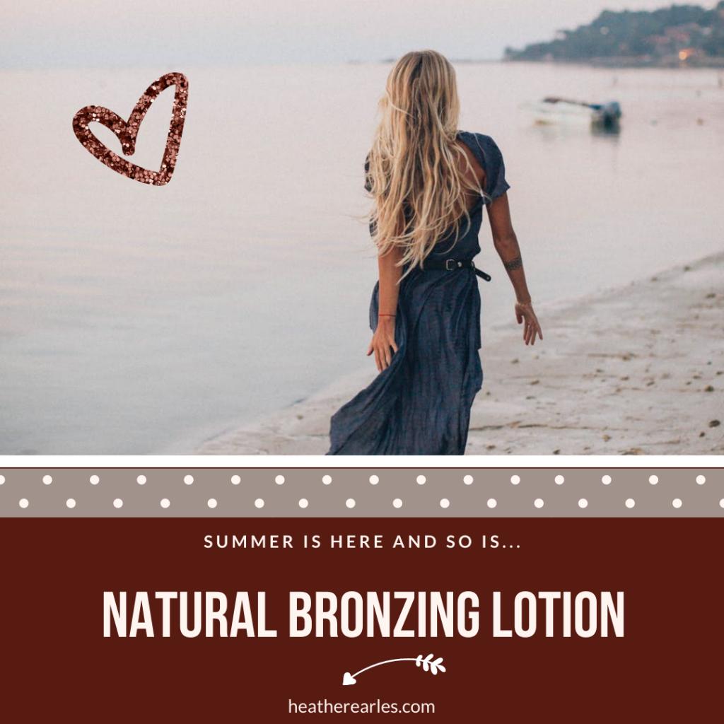 natural bronzing lotion recipe #heatherearles #bronzer #herbnwisdom #naturalliving #northerngirl #armywife