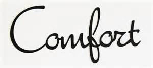 the word comfort
